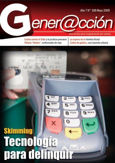 Tecnología para delinquir - Generaccion.com