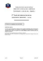 31600 Quest rép Loi 16 Juillet 2007 - Footeo