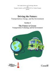 Transportation Technology and the Environment