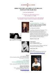 Newsletter mars 2012 - Ville d'Aubervilliers