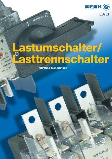 Lasttrennschalter Lastumschalter/