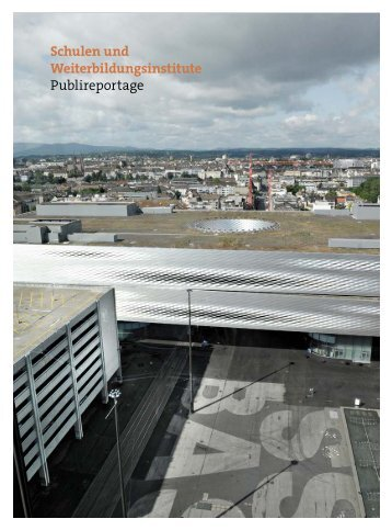 Schulen und Weiterbildungsinstitute Publireportage - KV Schweiz
