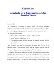Cap. 10. Anestesia en la Transposición de los Grandes Vasos