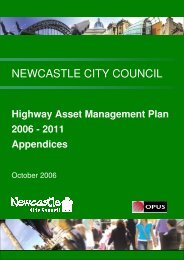 Appendices - Newcastle City Council