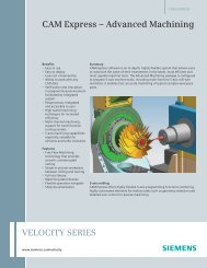 Brochure - CAM Express - Advanced Machining - Geometric Solutions