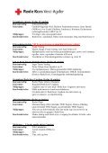 Velkommen til kurshelg og ledersamling! - Røde Kors - Page 3