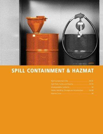 SPILL CONTAINMENT & HAZMAT