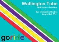Watlington Tube