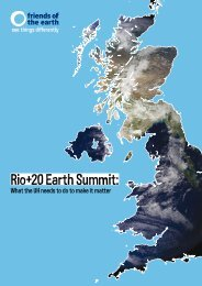 Rio+20 Earth Summit: What the UK needs - Circle of Blue