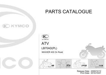 PARTS CATALOGUE - Motor-Land