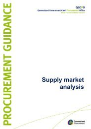 Supply market analysis - Department of Housing and Public Works ...