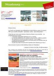 Mai 2011 - Médiathèques de la ville et de la communauté urbaine ...