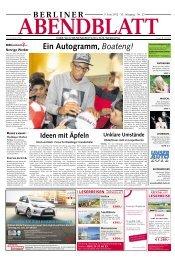 Berliner Abendblatt - Kammerchor Wedding Berlin