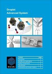 Droplet Advanced System - Dolomite Microfluidics