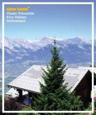 Chalet Tchoueille Four Valleys Switzerland - Ski chalets for sale