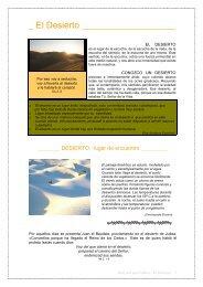 El Desierto.pdf - Orar con una Palabra