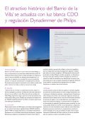 Caso práctico Barrio de la Villa, Malaga - Philips Lighting - Page 3