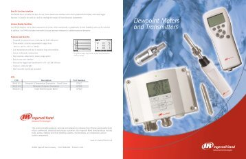 Dewpoint Meters and Transmitters