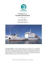 GMK08 Round Spitsbergen 05-15 July - Spitzbergen