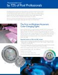 Innovations in Pool and Spa Lighting - PoolSpaDR.com - Page 2