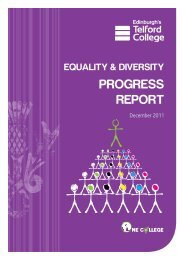 Progress Report 2011 - Edinburgh's Telford College