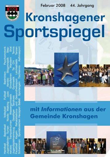 Februar - TSV Kronshagen