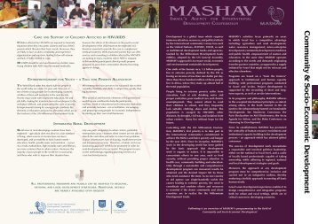 MASHAV - Israel Ministry of Foreign Affairs