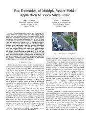 Fast Estimation of Multiple Vector Fields - Instituto de ...