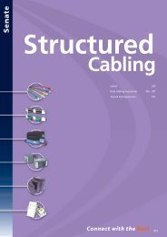 Structured Cabling - WF Senate