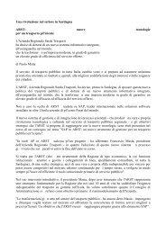 Una rivoluzione nel settore in Sardegna