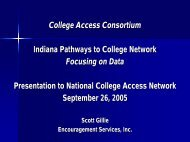College Access Consortium Indiana Pathways to College Network ...