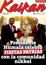 Kaikan Nº 69 - Julio-Agosto 2012 - Asociación Peruano Japonesa