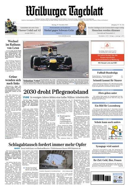 2030 Droht Pflegenotstand Epaper Mittelhessende