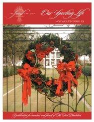 Newsletter 2011 November December.indd - The Ford Plantation