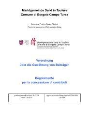 Verordnung über die Gewährung von Beiträgen an Körperschaften ...