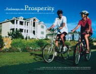 Pathways to Prosperity Brochure - North Carolina Department of ...