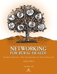 Shared Services: The Foundation of Collaboration - AcademyHealth