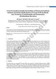 N-Aryl 2-Cyanothioacetamide Intermediates in ... - AstonJournals