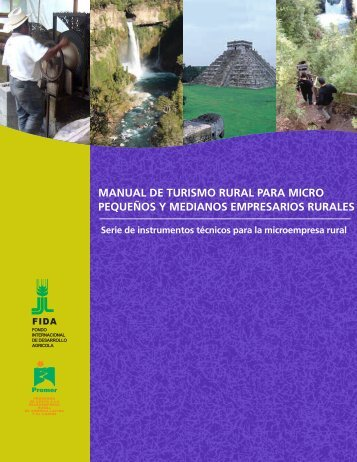 Primer Manual de Turismo Rural - Facultad de Agronomía ...