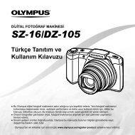 Türkçe Tanıtım ve Kullanım Kılavuzu SZ-16/DZ-105