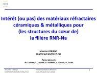 Intérêt des matériaux réfractaires céramiques et métalliques pour la ...
