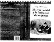 El error judicial y la formación de los jueces - Tribunal Electoral del ...