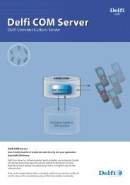 Delfi Com server UK2.indd - Delfi Technologies
