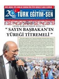 '' SAYIN BAŞBAKAN'IN YÜREĞİ TİTREMELİ '' - Türk Eğitim-Sen
