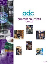 BAR CODE SOLUTIONS - ADC Technologies