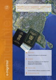 Regards sur les migrations sud-asiatiques - Maison des Sciences ...