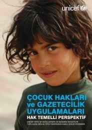ÇOCUK HAKLARI ve GAZETECİLİK ... - UNICEF Türkiye