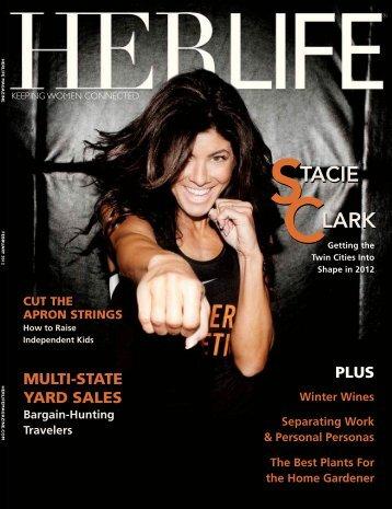 CLARK STACIE CLARK STACIE - HER LIFE Magazine