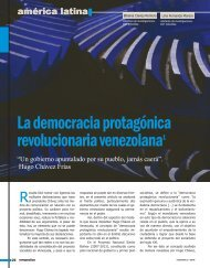 La democracia protagónica revolucionaria - Revista Perspectiva