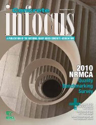 2010 NRMCA - National Ready Mixed Concrete Association